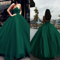 Wholesale fashion dresses for special occasions for sale - Group buy Princess Green Long Evening Dresses Ball Gown Quinceanera Gowns Organza Floor Length For Sweet Special Occasion Prom Party Dresses