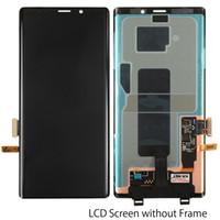 ingrosso nota pannello di schermo originale-Pannello LCD di ricambio originale per display Touch Digitizer Assembly Cell Phone Touch Panel Assembly Per Sansung Galaxy Note 9