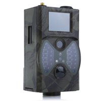 cámara gprs remota al por mayor-Hc300m 12m Digital Trail Camera Support Control Remoto 2g Mms Gprs Gsm 940nm Infrarrojo Visión Nocturna Cámara de Caza T190705