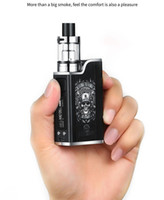 Wholesale hookah mod pen resale online - Retail New w liquid electronic cigarette led vaporizer ml mah w e cigarettes vape pen box mod kit hookah vape
