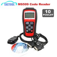 Wholesale auto car ms for sale - DHL Fast Car Auto Code Reader MS OBD OBDII Diagnostic Scanner MaxiScan MS509 For US Asian European Automotive