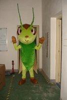 costumes de fourmis achat en gros de-2019 NOUVEAU insecte vert Mascot Costume Déguisement Adulte Taille Robe De Bande Dessinée insecte fourmi Mascot Halloween Fête De Noël Robe