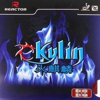 caoutchouc éponge bleu achat en gros de-Ping-in de tennis de table Reactor Ckylin en caoutchouc avec une éponge bleue AUCUN ITTF