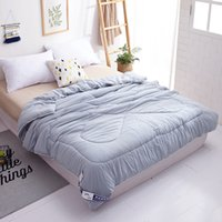 Wholesale comforters quilts bedspreads resale online - NIOBOMO Elegant style Pure Summer thin Quilt Bedspread Blanket Comforter Bed Cover Quilting Home Suitable for Children adult SH190917