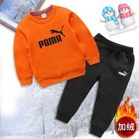 Wholesale baby baseball sleeves for sale - Group buy Baby Long Sleeve unisex boys Girls Suits Tracksuits piece set Kids Clothing Set Hot Sell Fashion winter Children s Sweater klw