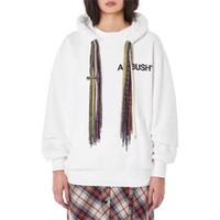 musikpelz großhandel-AMBUSH Hoodie Männer-Frauen-Qualitäts-Kleidung AMBUSH Pullover Hip-Hop Skateboard Hoodie