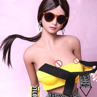 ingrosso la più nuova bambola femminile del sesso-dispositivi di masturbazione femminile della ragazza della figa di Chian della bambola del giocattolo del sesso di vigina 165cm di disegno 165cm di spedizione gratuita