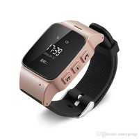 relógios antigos venda por atacado-Smart watch d99 idosos smart watch telefone sos anti-lost gps + lbs + wi-fi de rastreamento smartwatch para homens idosos mulheres ios telefones android