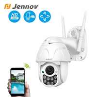 Wholesale wireless ptz ip camera indoor for sale - Group buy Jennov P PTZ IP Camera Outdoor Dome Wireless Wifi Security Camera Two way Audio MP Yoosee CCTV Network Surveillance ONVIF T191018