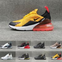 Wholesale heels cut shoes for men for sale - Group buy Habanero Red Air Men Running Shoes For Mens Women Cushion Sneakers Core White Trainers Sports Athletic Triple Black Outdoor Jogging