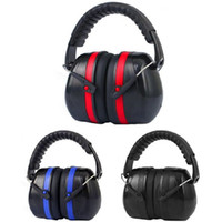 ingrosso cuffie antirumore-Nuovi Tactical Earmuffs Anti-Rumore Cuffie protettive Noise Cancelling Cuffie Hunting Work Studio Sleep Ear Protection Shooting
