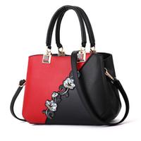shouler handtaschen großhandel-Tragbare Handtaschen Einfache beiläufige Handtasche Elegante großzügiger Trend Temperament Bequemt Persönlichkeit wilde Shouler Tasche
