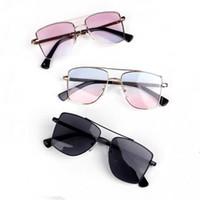 neue sonnenbrillen für kinder großhandel-2019 neue Mode Kinder Sonnenbrille Kinder Strand Mädchen Sonnenbrille Jungen Sonnenbrille Kinder Sonnenbrille Designer Baby Brille