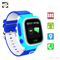 Wholesale watch phone gps sos online – Q90 Kids Bluetooth Smartwatch Smart Watch for Children Apple iPhone Android Phone with GPS Tracker SOS WiFi LBS Wearable Device PK Q50 Q60