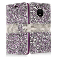Wholesale bling wallet case plus for sale – best For Coolpad Defiant REVVL Plus illumina Manufacturer Luxury Flip Card Diary Bling Crystal Diamond Rhinestone Wallet Leather Case
