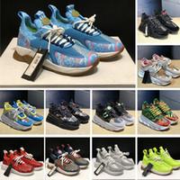 sapatos homem italia novo venda por atacado-2020 Nova Chain Reaction Sneakers Luxo Fahion casual sapatos para Homens Mulheres Itália desenhista calça Distrito Medusa Trainers Luxe Chaussures