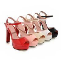 sapatos abertos para meninas venda por atacado-Sandálias Sapatos Mulher Plataforma De Salto Claro 2019 Praia Sexy Sandálias Sapatos De Casamento Tubo De Aço Dançando Menina Stripper Sapatos Dedo Do Pé Aberto