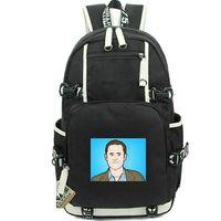 Wholesale nice men canvas backpacks for sale - Group buy Evan Williams day pack Twitter daypack Famous man schoolbag Nice packsack Laptop rucksack Sport school bag Out door backpack