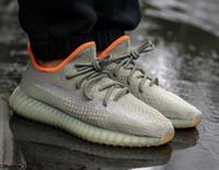 Wholesale new basketball socks for sale - Group buy NEW Fashion designer men women Kanye off Running basketball shoes for mens platform star Sneaker Luxury white Desert Sage sock Sneakers