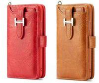 huawei couverture magnétique achat en gros de-Pour iPhone XS MAX X 7 8 Plus 2 en 1 magnétique détachable portefeuille amovible étui en cuir couverture de téléphone Huawei P20 Samsung S9 S8 NOTE9