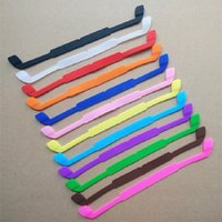 Wholesale silicone sunglasses resale online - Silicone Elastic Glasses Antiskid Rope Eyeglasses Chains Outdoor Sports Band Head Strap Floater Cord Fashion Sunglasses Stretchy Holder