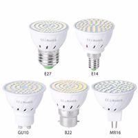 Wholesale bright spotlight bulbs for sale - Group buy E27 E14 GU10 MR16 GU5 Ultra Bright dimmable W W W V LED Bulbs Spotlight COB led Lamp Warm Cool White