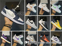Wholesale size new mens trainers high quality air force off white trainers womens running shoes