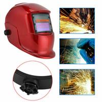 kask toptan satış-Pro Güneş otomatik kararan kaynak kask TIG-MIG ark kaynağı cilalı maskeleri maske RF