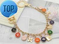 Wholesale bone pearl resale online - 2019 Gift ENCHAPPE KEY HOLDER MP1795 Gift KEY HOLDERS CHARMS TAPAGE BAG CHARM KEY