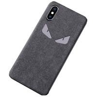 pelz handy fällen großhandel-Pelz handy case für iphone 6s 7 8 plus x xr xs max leder rückseitige abdeckung für iphone luxus anti-fall