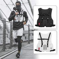 Wholesale cycling windbreaker for sale - Group buy Men s Outdoor Sports Training Cycling Tank Tops Fitness Active Multi functional Tactical Vests Wear resistant Protective Jersey Vest M617F