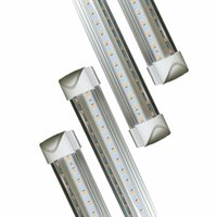 Wholesale fluorescent lights bulbs for sale - Group buy LEDs Tube Light FT W W Fluorescent Equivalent Double Side V Shape Integrated Bulb Lamp Works without T8 Ballast Plug and Play