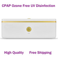accesorios cpap al por mayor-MOYEAH CPAP Accesorio limpiador y desinfectante Máscara y humidificador desinfectantes UV sin ozono en 5 minutos Entrega gratuita de DHL
