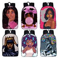 mochila de estudante miúdo venda por atacado-Meninas Escola Mochila Estudantes Criativo Dos Desenhos Animados Bolsa de Ombro Designer de Moda Mochila Sacos de Viagem Crianças Mulheres 32 Estilo para Escolher HHA540