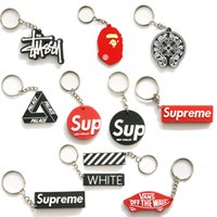 Wholesale universal car keychain for sale - Group buy Sup Keychain Cell Phone Straps Car Charm Tide Brand Creative Personality Car Charms Wallet Bags Key Chain Hanging Hand Strap