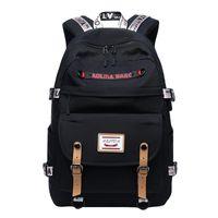 Wholesale a1 laptops for sale - Group buy Canvas Stripe Backpack Fits Inch Laptop with USB Port Charge Outdoor sports chest bag slung shoulder shoulder bag A1