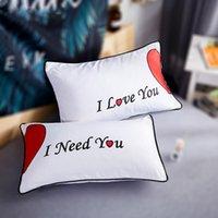 ingrosso set bianchi di biancheria da letto per matrimoni-