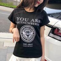 camisa preta fina t mans venda por atacado-Balmain atacado t-shirt designer de moda mens slim homens mulheres preto branco imprimir paris nova moda