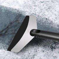 ön cam yıkama toptan satış-Kar Buz Kazıyıcı Araba Cam Oto Buz Temizlik Aracı Pencere Temizleme Aracı Kış Oto Yıkama Aksesuarları Kaldır
