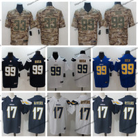 196a43ef 2019 Camo Salute to Service Los Angeles 99 Chargers Joey Bosa Football  Jersey 17 Philip Rivers 33 Derwin James Vapor Untouchable Jerseys