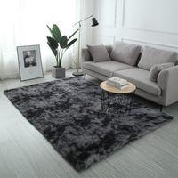 kinderbodenteppiche groihandel-Plüschfell Teppich Wohnzimmer weichen Shaggy Teppich Kinderzimmer Haar Schlafzimmer Teppich Sofa Couchtisch Bodenmatte Modern Große Teppiche