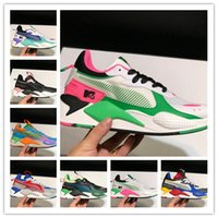 Wholesale creeper shoes designer resale online - designer mens RS X Reinvention running Shoes pink Black white triples Creepers dad Chaussures Men Women Trainer sports Sneakers