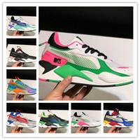 diseñador de zapatos creeper al por mayor-Hombres de diseno RS-X Reinvención Blanco running Negro rosado se triplica enredaderas papá Chaussures Hombres Mujeres Trainer zapatillas deportivas 36-45