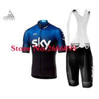dfcd47cf7 Team SKY Cycling Jersey 2019 Bike Clothing Men Quick Dry MTB Bicycle Short  Sleeve Set Shorts 9D Pad uniformes ciclismo hombre