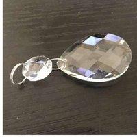 collar de araña de cristal al por mayor-Kaigelin Nuevo 10 unids / lote Crystal Grid Prism colgantes Para Araña de Cristal de Iluminación Crystal Grid Crystal Colgante para collares