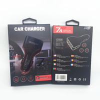 Wholesale 12v charger android for sale – best QC Cell Phone Car Charger USB Port Fast Charge Adapter Smart Charger V A For iPhone Android Samsun