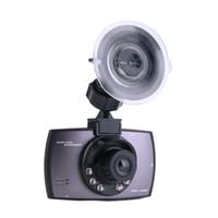 цифровая панель приборов оптовых-HD 720P Автомобиль Цифровая камера DVR Видео ЖК-дисплей Вождение 2.2inch Dash Cam Мини-рекордер автомобиля Приборная панель ночного видения автомобильный видеорегистратор