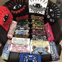 kleiderkopf großhandel-2018 sommer designer t-shirts für männer tops tiger kopf brief stickerei t-shirt mens clothing marke kurzarm t-shirt frauen tops s-2xl