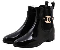 ingrosso caricamenti del sistema delle grandi signore-CALDO! Nuove scarpe di gomma Donne Stivali da pioggia per le ragazze Donne Jelly PVC impermeabile Stivali donna Inverno Donna Caviglie Martins Rainboots Big Size 36-41