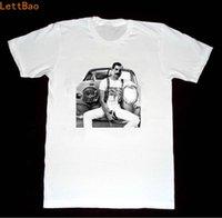 formalen t-shirt kurze ärmel großhandel-Freddie Mercury T-Shirt Männer Art und Weise Rock-T-Shirt Sommer Tops Coole T-Shirt Baumwolle Kurzarm Herren Formelle Hemden